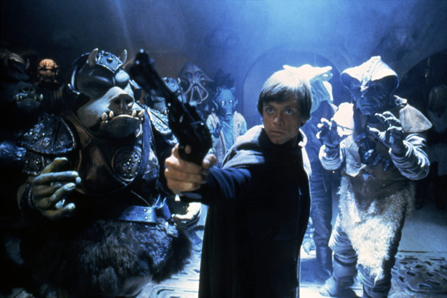 Mark Hamill and Gerald Home in Star Wars: Episode VI - Return of the Jedi (1983)