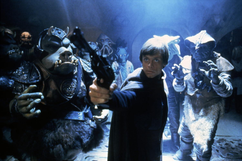 Mark Hamill and Gerald Home in Star Wars: Episode VI - Return of the Jedi (1983)