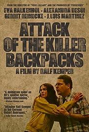 Überfall der Mörderrucksäcke Poster