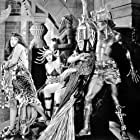 Bebe Daniels, Thomas Meighan, and Gloria Swanson in Male and Female (1919)