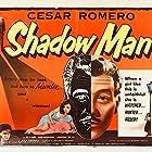 Cesar Romero and Simone Silva in Street of Shadows (1953)