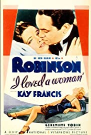 I Loved a Woman(1933) Poster - Movie Forum, Cast, Reviews