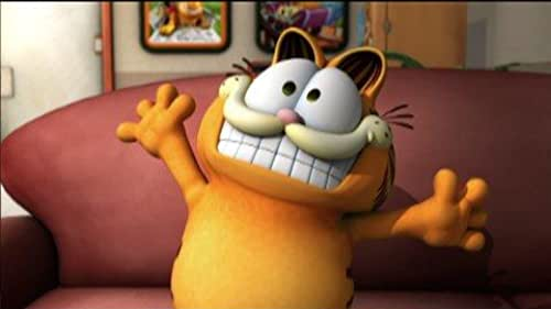 Trailer for this animated movie about this cat who loves lasagna