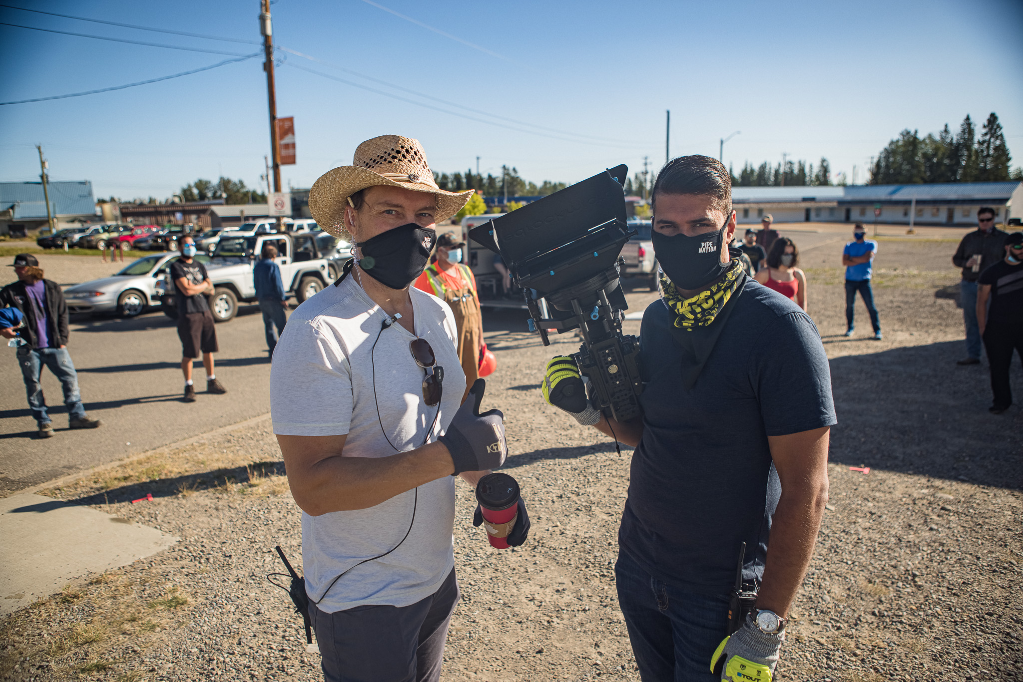 Daniel Svedberg and Raoul Bhatt in Pipe Nation (2021)