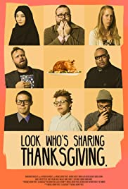 Look Whose Sharing Thanksgiving Poster