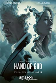 Ron Perlman and Dana Delany in Hand of God (2014)