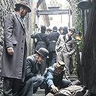 Jerome Flynn, Matthew Macfadyen, Adam Rothenberg, and Benjamin O'Mahony in Ripper Street (2012)