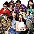 Geena Davis, Mimi Rogers, Peter Horton, John Francis Daley, Esther Scott, and Makenzie Vega in The Geena Davis Show (2000)