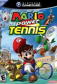 Mario Power Tennis Poster