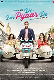 Tabu, Ajay Devgn, and Rakul Preet Singh in De De Pyaar De (2019)