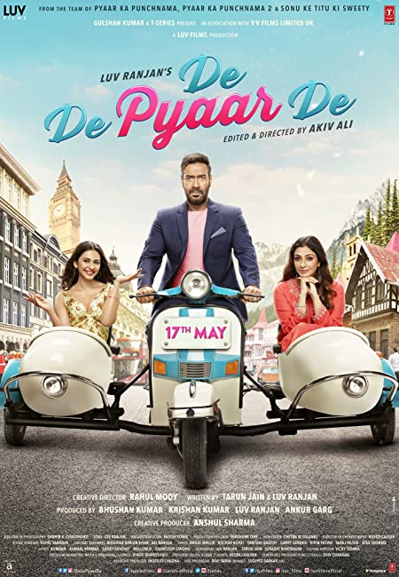De De Pyaar De (2020) Hindi 720p WEB-DL x265 AAC 800MB