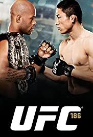 UFC 186: Johnson vs. Horiguchi Poster