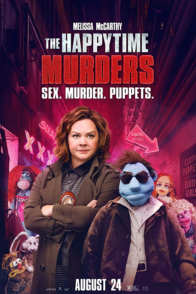 Melissa McCarthy and Dorien Davies in The Happytime Murders (2018)