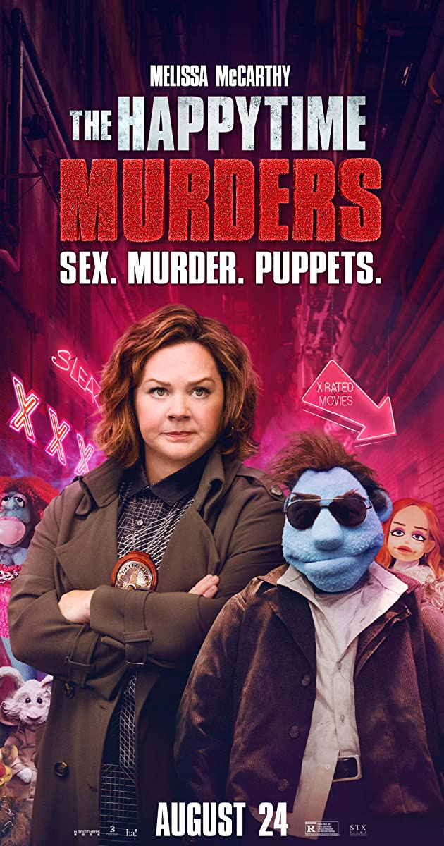Watch Full HD Movie The Happytime Murders (2018)