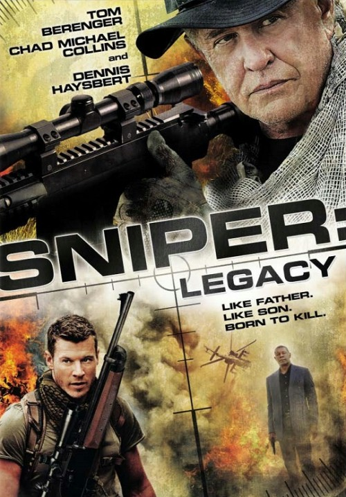 Sniper Legacy 2014 Hindi Dual Audio 480p HDRip 300MB