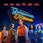 Angela Bassett, Michelle Yeoh, Carla Gugino, Lena Headey, and Karen Gillan in Gunpowder Milkshake (2021)