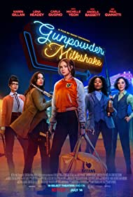 Michelle Yeoh, Carla Gugino, Lena Headey, and Karen Gillan in Gunpowder Milkshake (2021)
