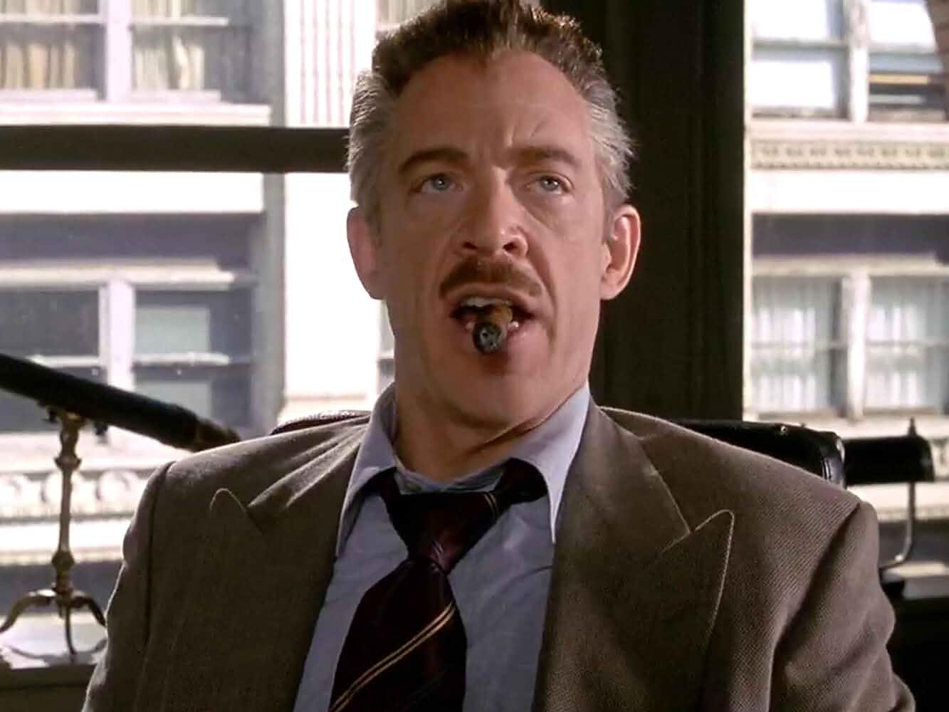 JK Simmons in Spider-Man 2002