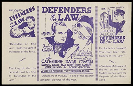 Watch free 3d online movies Defenders of the Law [420p]