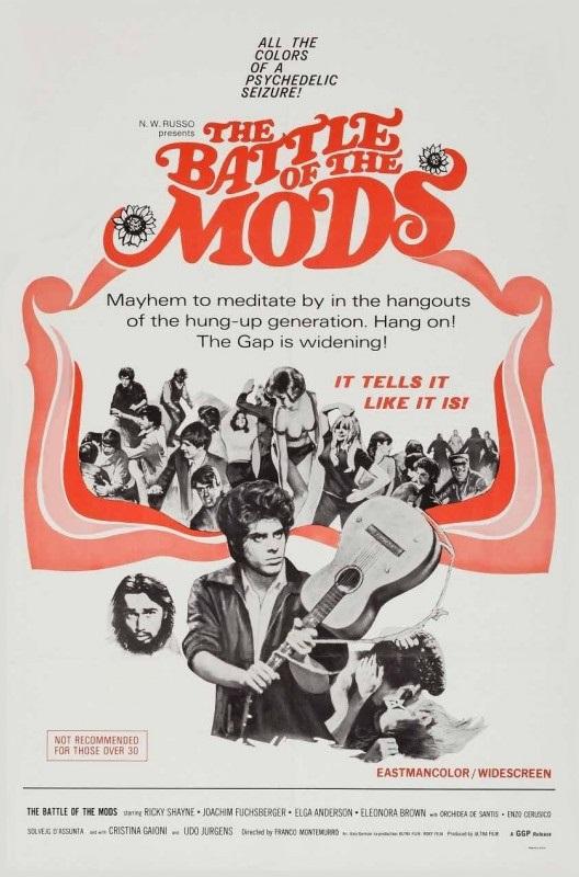 Ricky Shayne in La battaglia dei Mods (1966)