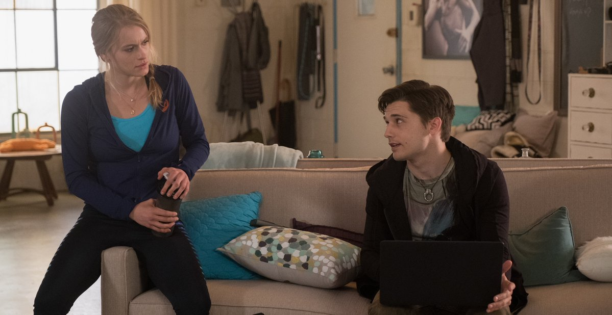 Leven Rambin and Andy Mientus in Gone (2017)