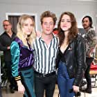 Jeremy Allen White, Maika Monroe, and Olivia Luccardi at an event for After Everything (2018)