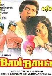 Badi Bahen Poster