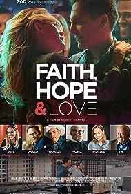 Ed Asner, Corbin Bernsen, Robert Krantz, Natasha Bure, and Peta Murgatroyd in Faith, Hope & Love (2019)