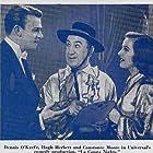 Hugh Herbert, Constance Moore, and Dennis O'Keefe in La Conga Nights (1940)