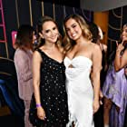 Rachael Leigh Cook and Addison Rae at an event for He's All That (2021)