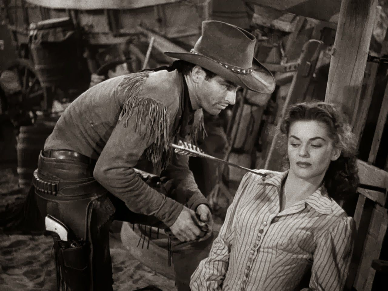 Image result for montgomery clift in red river