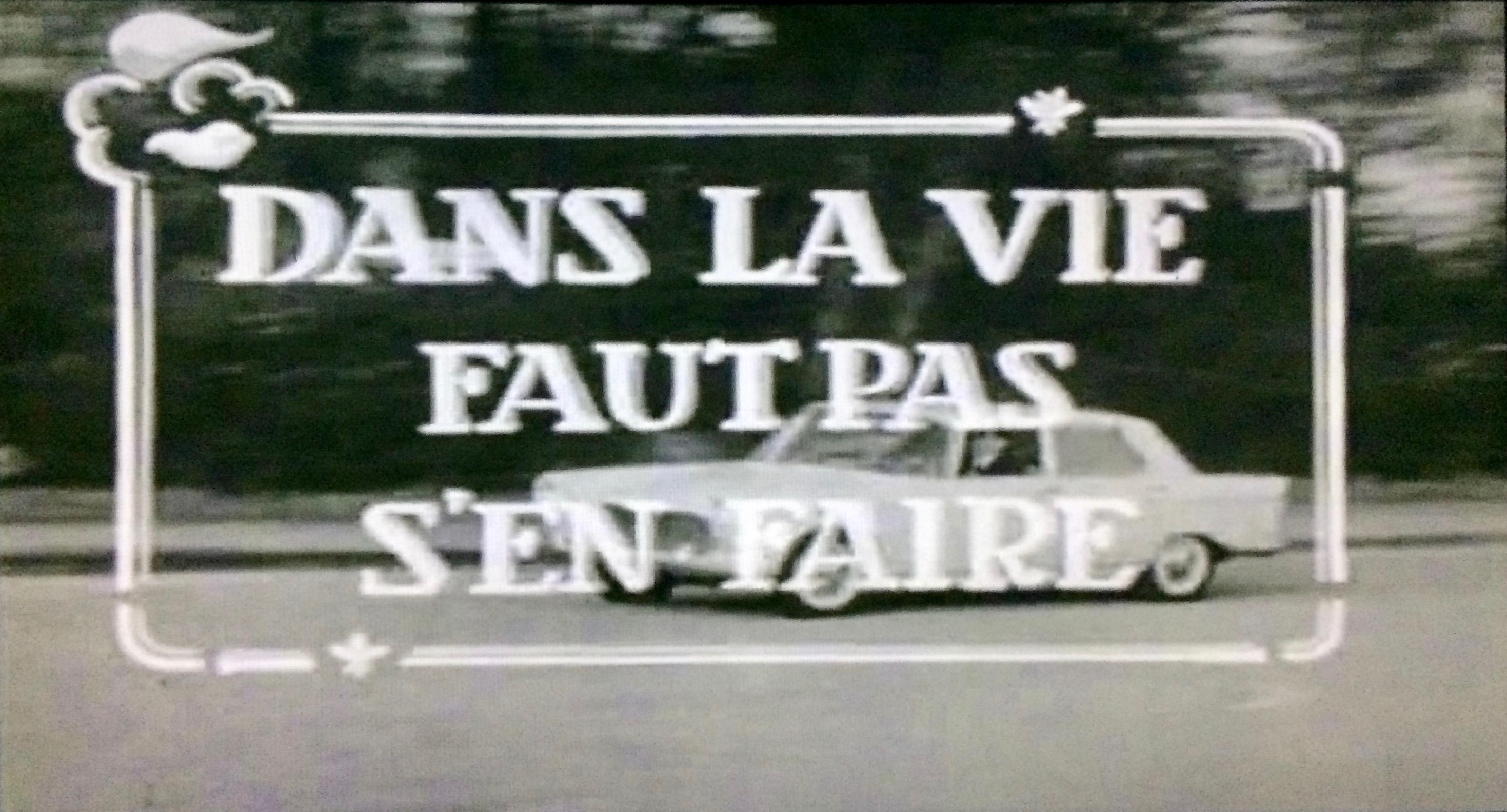 Dans la vie faut pas s'en faire (1962)