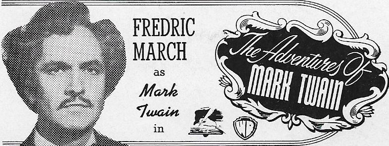 Fredric March in The Adventures of Mark Twain (1944)