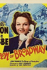 Queen of Broadway Poster