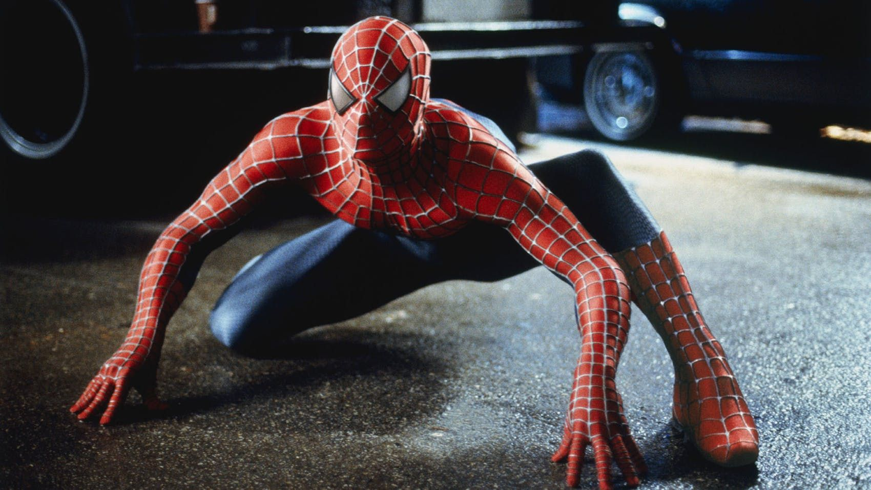 Tobey Maguire in Spider-Man (2002)