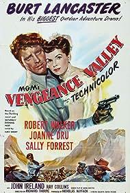 Burt Lancaster and Joanne Dru in Vengeance Valley (1951)