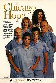 Hector Elizondo, Mandy Patinkin, Roma Maffia, Adam Arkin, Roxanne Hart, and E.G. Marshall in Chicago Hope (1994)