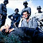 Donald Pleasence and James Garner in The Great Escape (1963)