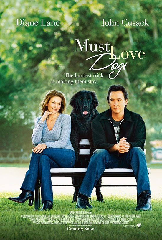 John Cusack and Diane Lane in Must Love Dogs (2005)