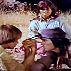 David Carradine, X Brands, and Ann Morell in Shane (1966)