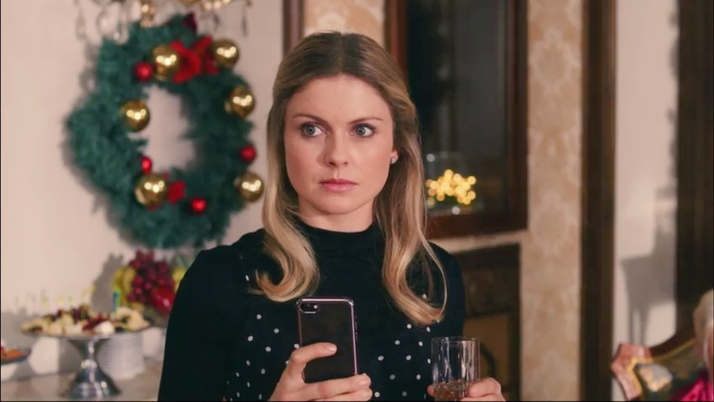 Rose McIver in A Christmas Prince (2017)