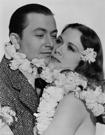 Robert Young and Eleanor Powell in Honolulu (1939)