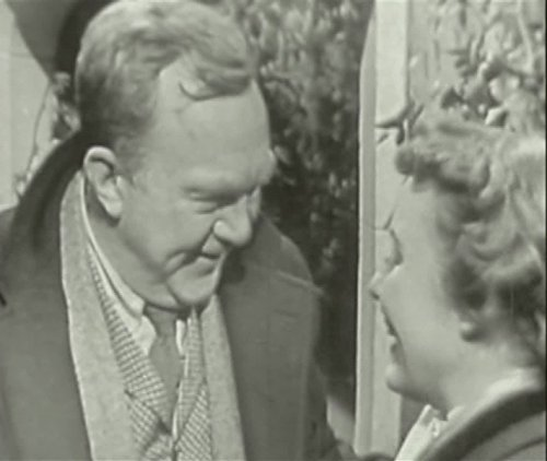 Patricia Hitchcock and Thomas Mitchell in Suspense (1949)