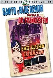 Santo y Blue Demon contra el doctor Frankenstein Poster