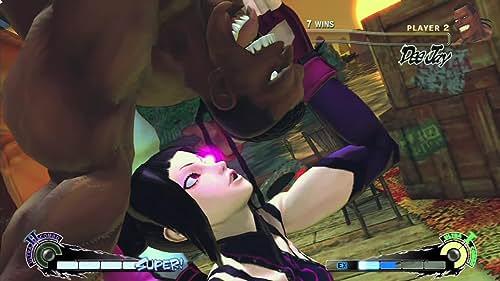 Super Street Fighter IV: Juri Vs Deejay Gameplay