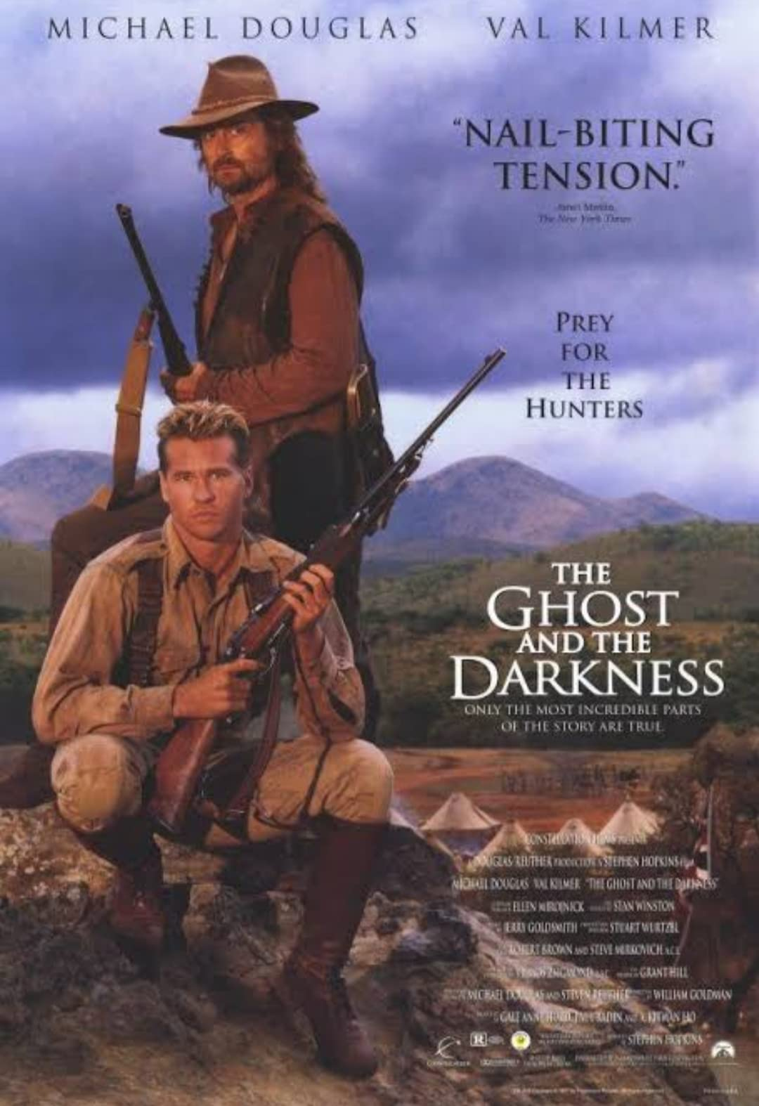 The Ghost and the Darkness (1996) Hindi Dubbed