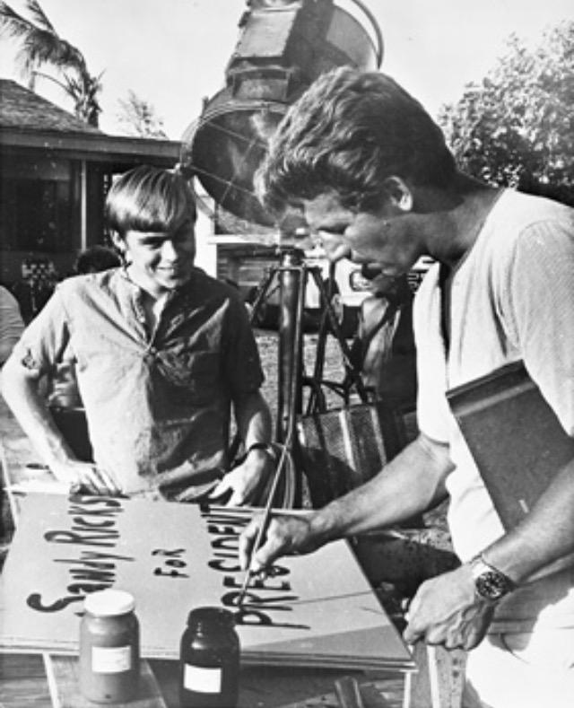 Ricou Browning and Luke Halpin in Flipper (1964)