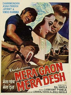 Mera Gaon Mera Desh movie, song and  lyrics