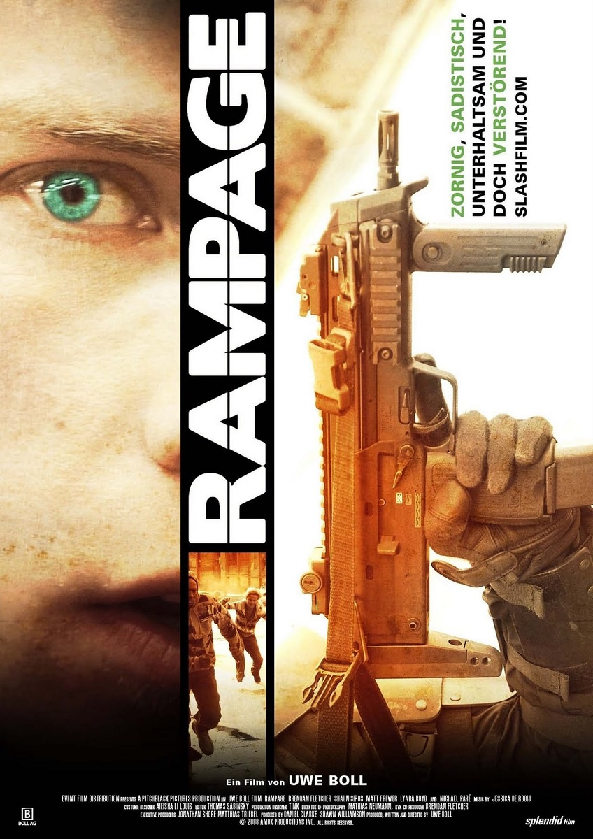 Rampage Uwe Boll Poster