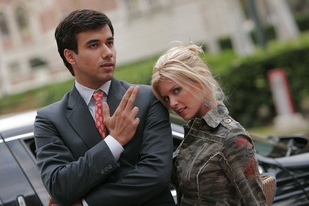 Erin Hershey and Phillip Rhys in Americanizing Shelley (2007)